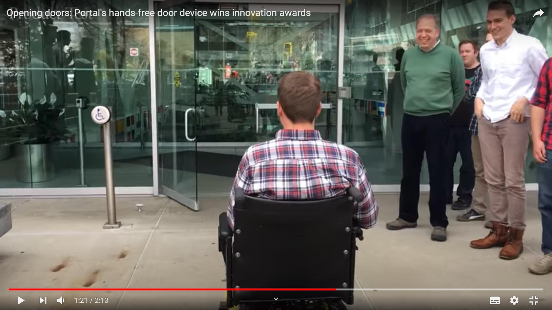 Niepełnosprawni - lepsze drzwi